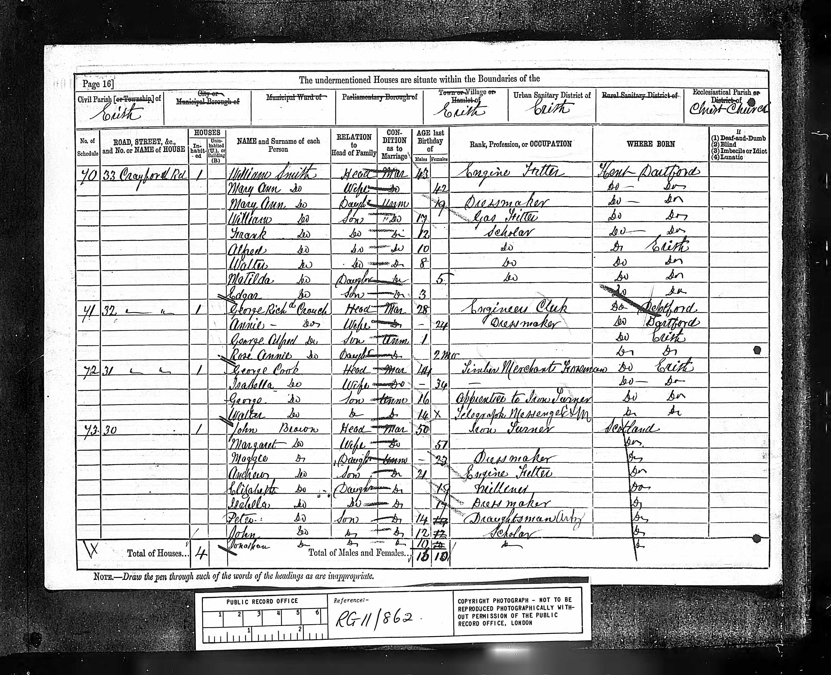 Mary ann goodhind records death certificate for mary ann goodhind smith xflitez Choice Image